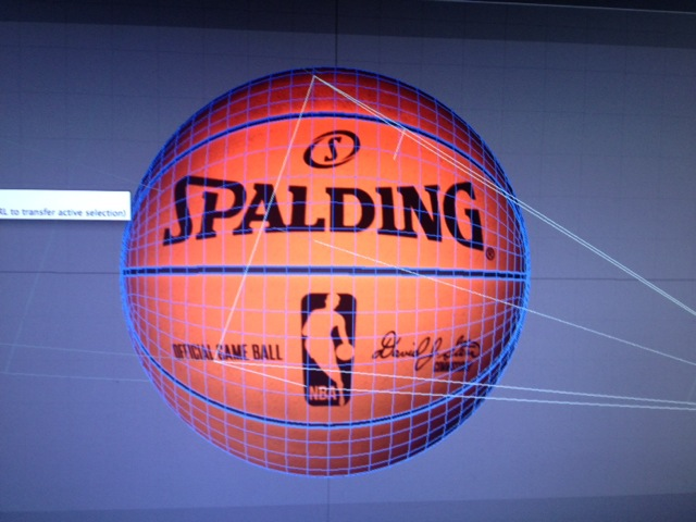 3D Basketball Animation WIP