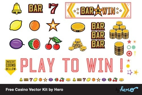 Free Casino Vector Kit by Hero
