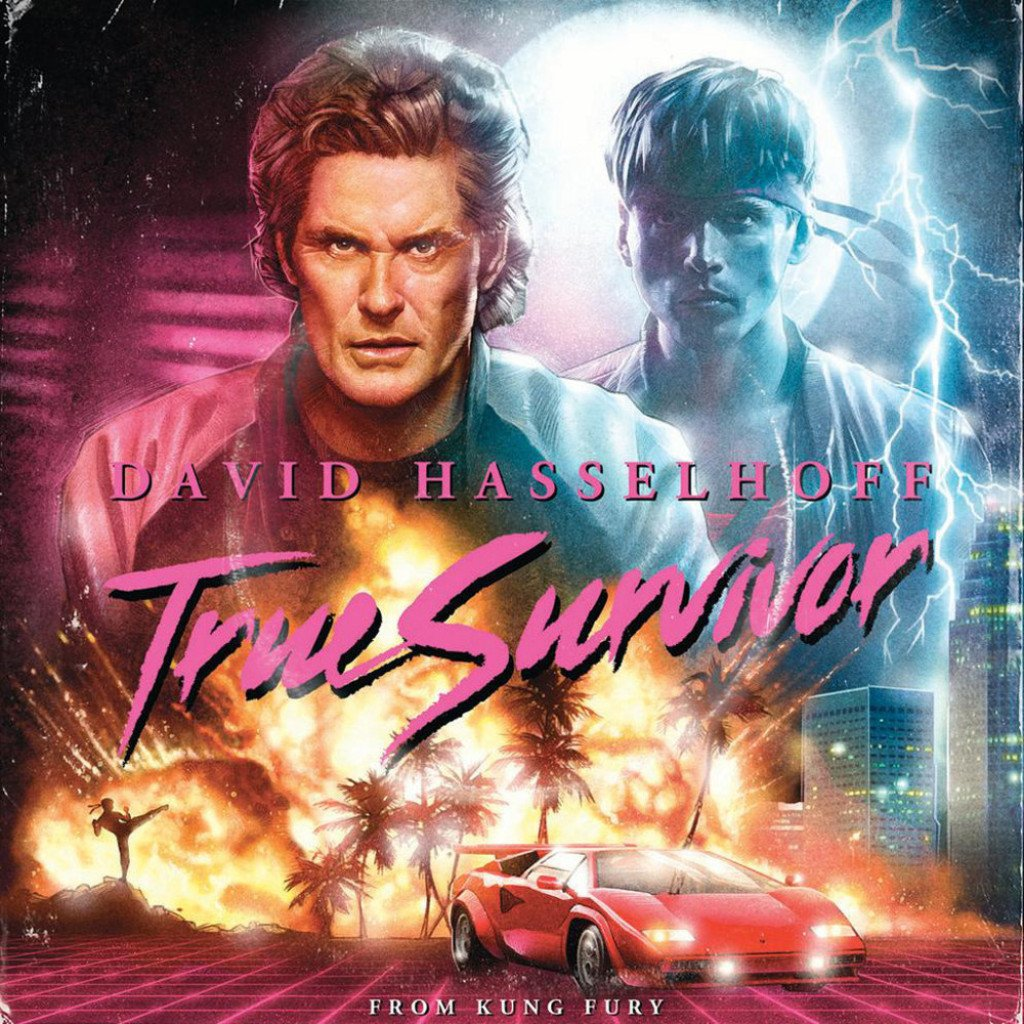 David Hasselhoff and Kung Fury project, new music video !