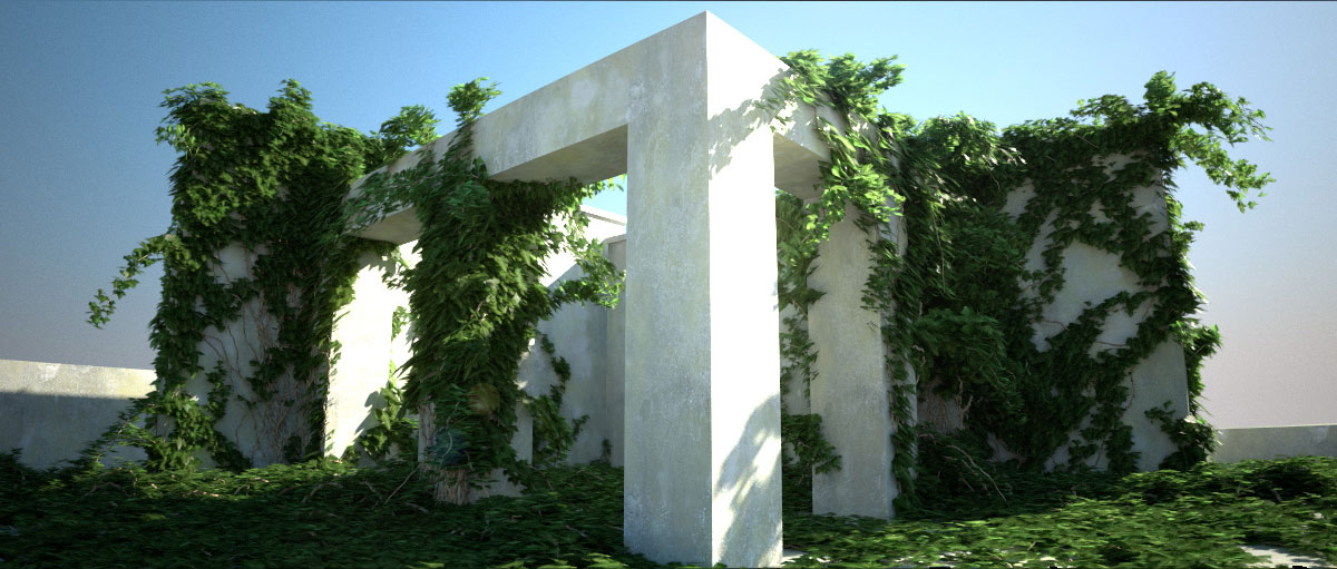 Ivygrower or Ivy generator plugin for C4D